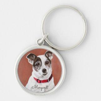 Llavero personalizado de Jack Russell Terrier