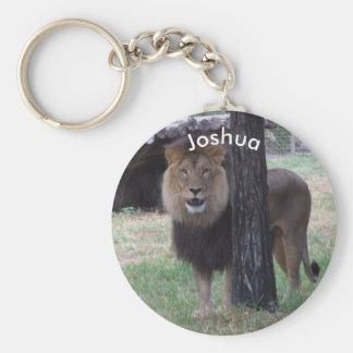 Llavero personalizado del león