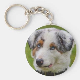Llavero personalizado lindo del perro