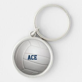 Llavero personalizado textura del voleibol