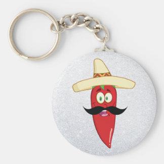 Llavero Pimienta roja mexicana