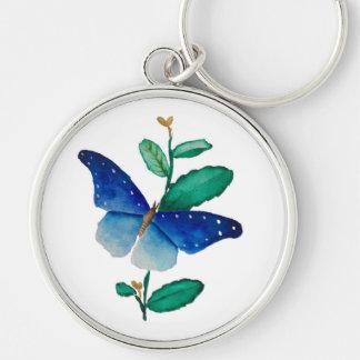 Llavero pintura de la mariposa