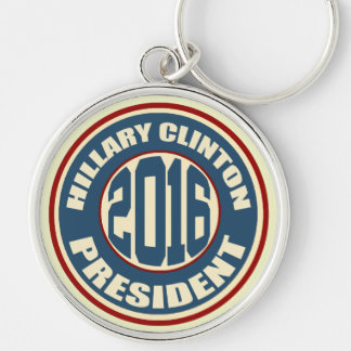 Llavero Presidente 2016 de Hillary Clinton