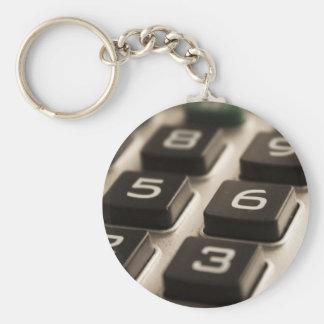 """Llavero """"Primer de la calculadora """""""