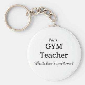 Llavero Profesor de gimnasio