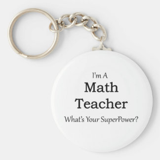 Llavero Profesor de matemáticas