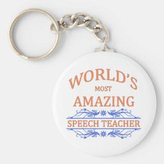 Llavero Profesor del discurso