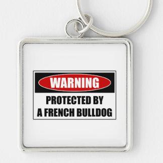 Llavero Protegido por un dogo francés