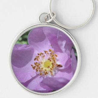 Llavero púrpura de la flor