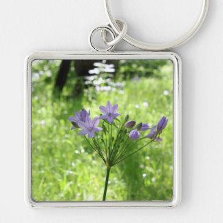 Llavero púrpura del Wildflower