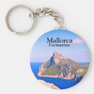 Llavero Recuerdo del viaje de Mallorca Formentor