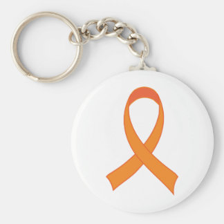 Llavero Regalo anaranjado personalizado de la conciencia