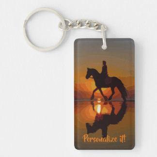 Llavero Regalo personalizado para el montar a caballo del