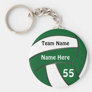 Llavero Regalos verdes barato personalizados del voleibol