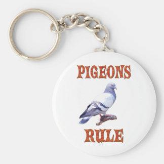 Llavero Regla de las palomas