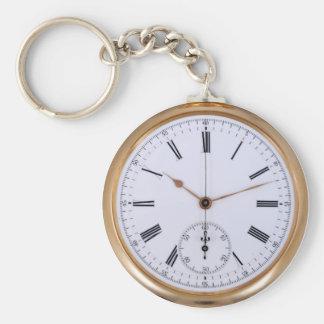 Llavero Reloj de bolsillo viejo de la antigüedad del reloj