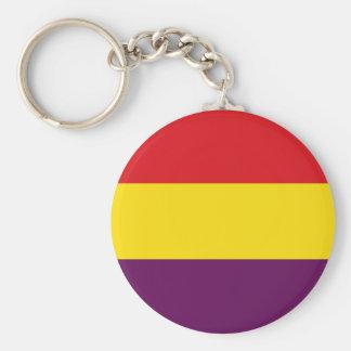 Llavero República de la bandera de España - Bandera