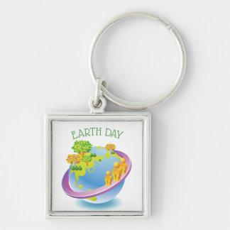 Llavero Reserva del ✿ del Día de la Tierra el planeta