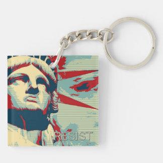 Llavero RESISTA - la estatua de la libertad