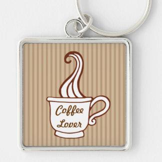 Llavero retro del amante del café