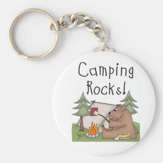 Llavero Rocas que acampan