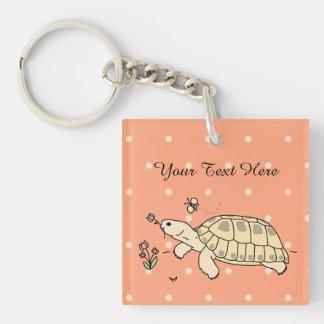 Llavero ruso adaptable de la tortuga (2 echados a