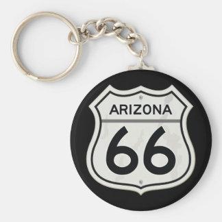 Llavero Ruta histórica 66 de Arizona los E.E.U.U.