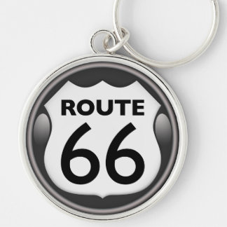 Llavero Ruta histórica 66 de los E.E.U.U.