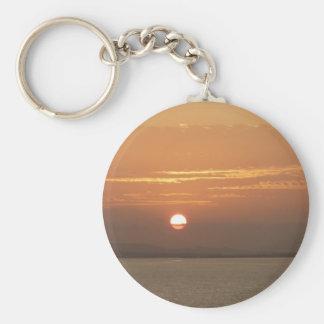 Llavero Salida del sol sobre el paisaje marino de Aruba I