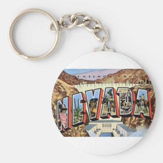Llavero Saludos de Nevada