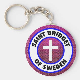 Llavero Santo Bridget de Suecia