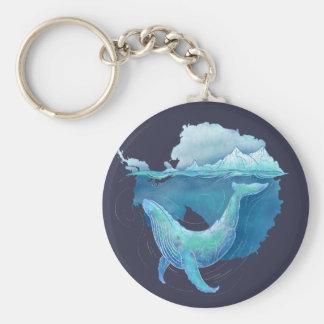 Llavero Santuario de la ballena del océano meridional