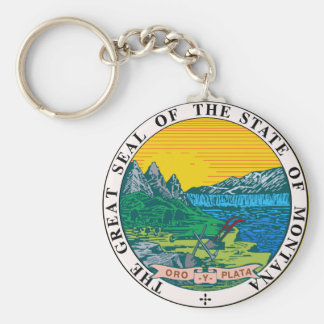 Llavero Sello del estado de Montana