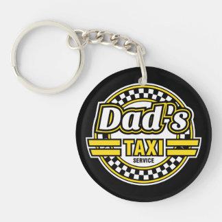 Llavero Servicio del taxi del papá - regalo para el papá -