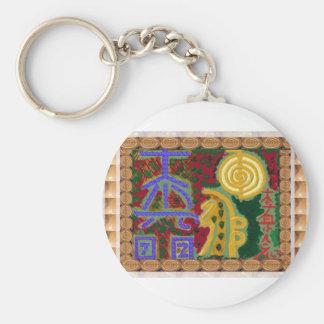 Llavero Símbolos curativos de Reiki del artista Canadá de