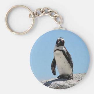 Llavero Sola foto del pingüino