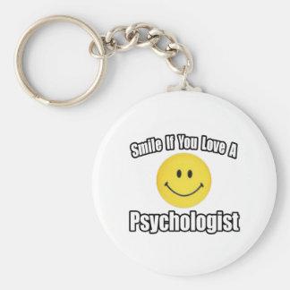 Llavero Sonrisa si usted ama a un psicólogo