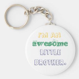Llavero Soy un pequeño hermano impresionante
