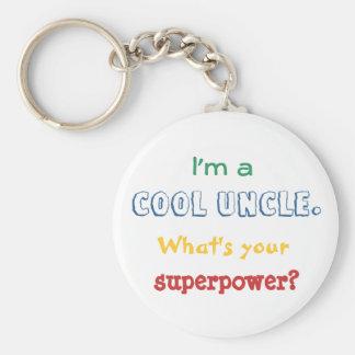 Llavero Soy un tío fresco. ¿Cuál es su superpotencia?