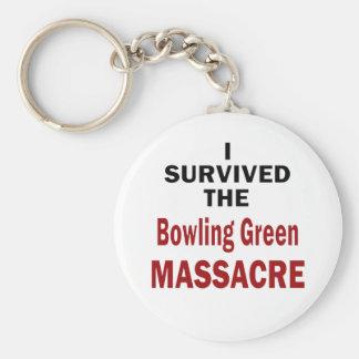 Llavero Superviviente de la masacre de Bowling Green