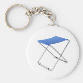 Llavero Taburete plegable azul