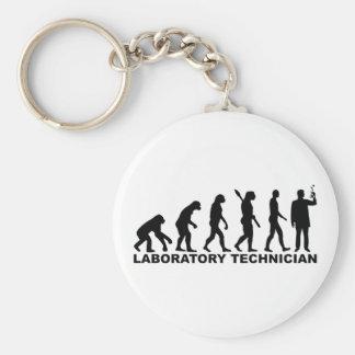 Llavero Técnico de laboratorio de la evolución