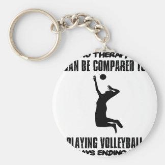 Llavero Tender diseños del voleibol