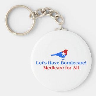 Llavero Tengamos Berniecare - Seguro de enfermedad para