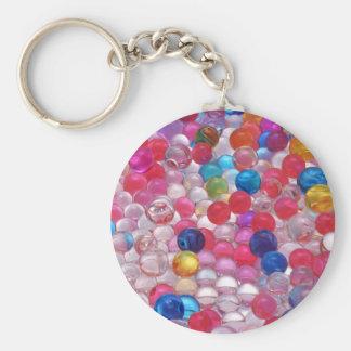 Llavero textura de las bolas de la jalea del colore
