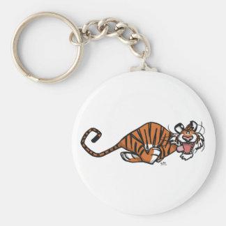 Llavero Tigre corriente del dibujo animado