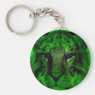Llavero Tigre verde