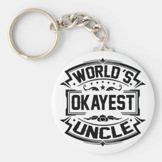 Llavero Tío de Okayest del mundo