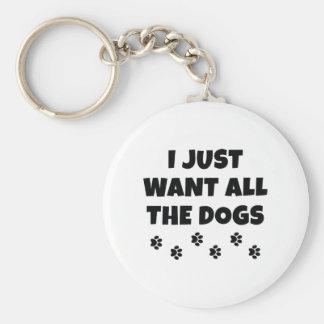 Llavero Todos los perros
