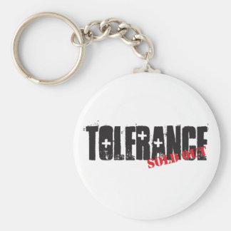 Llavero Tolerancia vendida hacia fuera